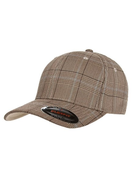 Flexfit Glen Check Baseball Cap Baseball-Cap