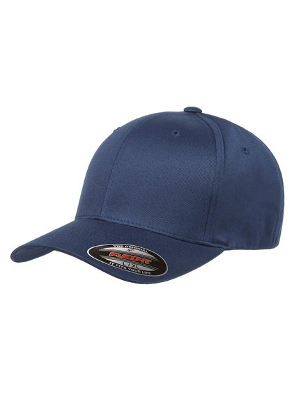 b77a8becade357 Flexfit Organic Cotton Modell 6277OC Baseball Caps in Navyblau ...