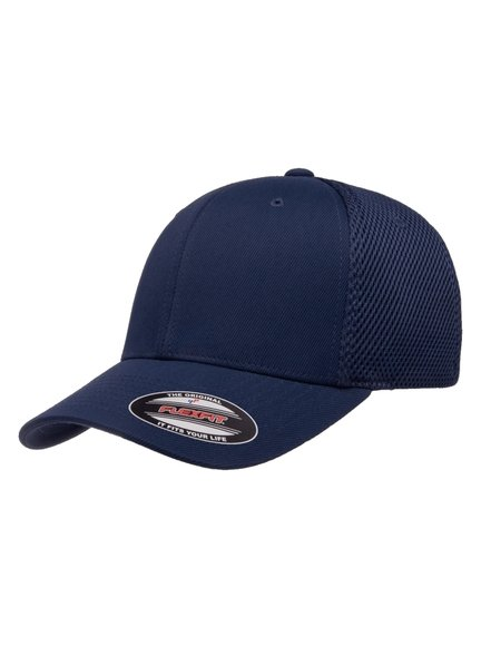 Flexfit Tactel Mesh Baseball Cap S//M Navyblau