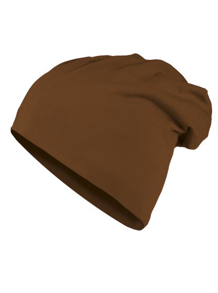 e2f0dc18a84 KMA Jersey Modell 10285 Beanies in Brown - Beanie