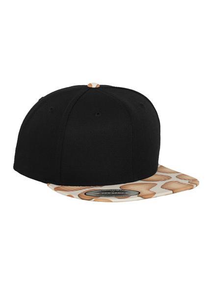 1dea11f487c Yupoong Special Animal Giraffe Snapback Caps in Black - Snapback Cap