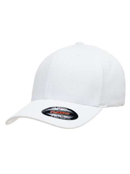 Flexfit Cool & Dry 3D Hexagon Jersey Baseball Cap Baseball-Cap