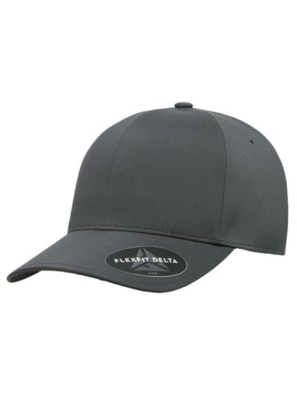 Flexfit Delta Modell 180 Baseball Caps in Darkgray - Baseball Cap 470f27f39f