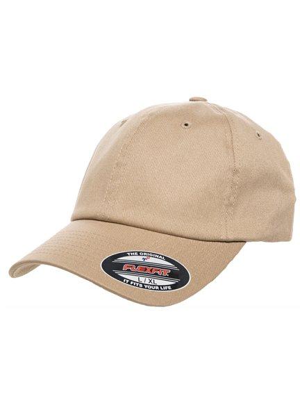 fd161563 Flexfit Cotton Twill Dad Modell 6745 Baseball Caps in Khaki ...