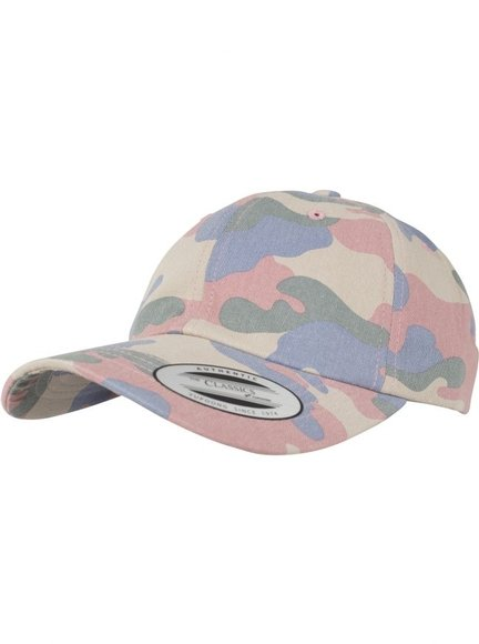 Yupoong Low Profile Cotton Camo Baseball Cap Baseball-Cap