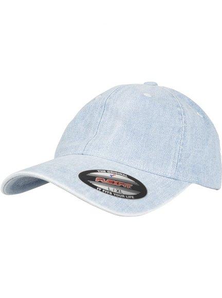 Yupoong Low Profile Denim Baseball Cap Baseball-Cap