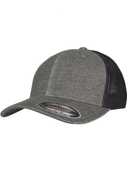Flexfit Mesh Melange Trucker Cap Baseball-Cap