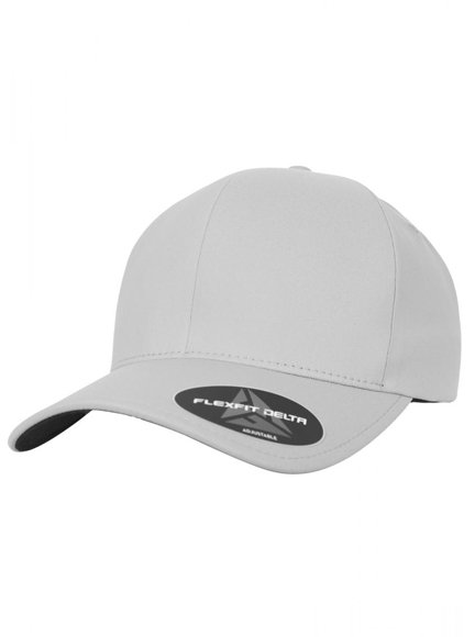 Flexfit Delta Adjustable Modell 180A Baseball Caps in Silver ... 25f557e13c