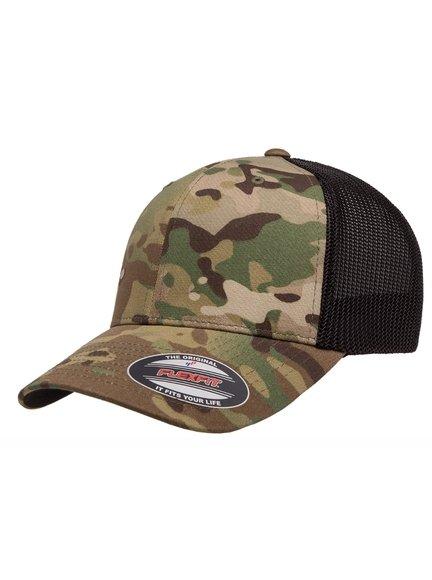 Flexfit Trucker Multicam Trucker Cap Baseball-Cap