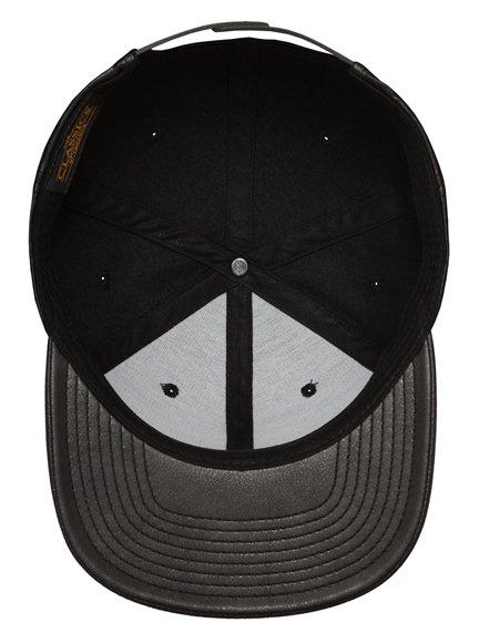 Yupoong Special Leder Snapback Cap Baseball-Cap