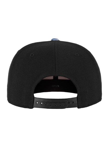 16d942099f3 Flexfit 110 Acid Effect Modell 110AE Snapback Caps in Black-Blue ...