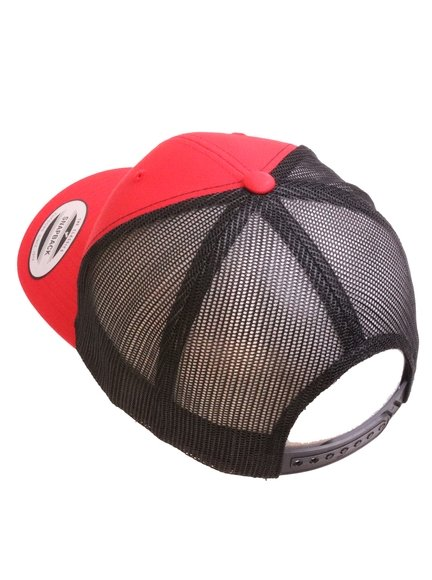 b2e2db2f Yupoong Retro Trucker Caps in Red-Black - Trucker Cap