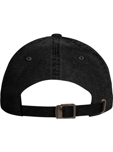 Yupoong Low Profile Denim Baseball Cap Baseball-Cap