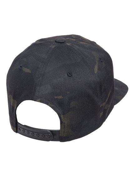 Yupoong Classic Multicam Schwarz Camouflage Snapback Cap Baseball-Cap