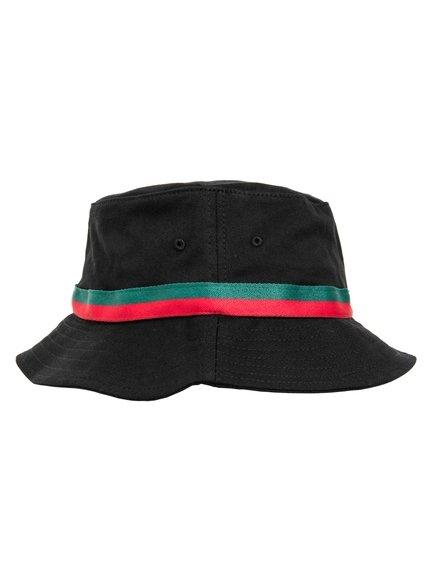 Flexfit Stripe Bucket Hat Bucket Hat Baseball-Cap