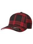 Flexfit Tartan Baseball-Cap