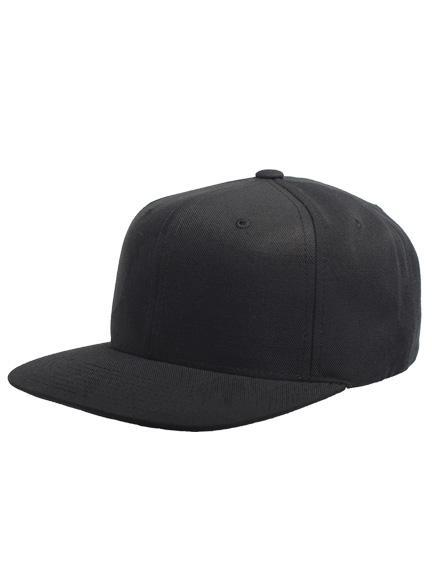 711f73d6caf Yupoong Classic Snapback Caps in Black-Grey - Snapback Cap