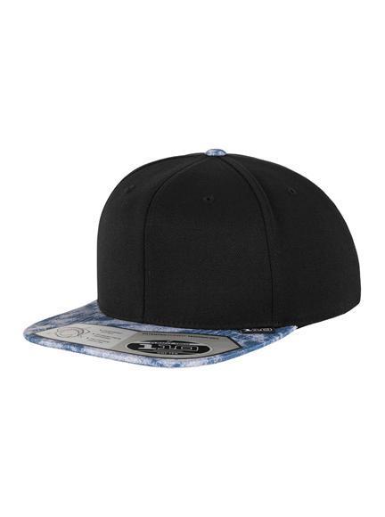 ef782b56a75 Flexfit 110 Acid Effect Modell 110AE Snapback Caps in Black-Blue - Snapback  Cap