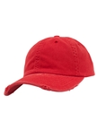 Yupoong Low Profile Cotton Twill Destroyed Baseball-Cap