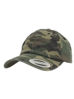 Yupoong Low Profile Wald-Camouflage Dad Baseball-Cap