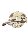 Yupoong Low Profile Retro-Wüste-Camouflage Dad Baseball-Cap