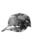 Yupoong Low Profile Schnee-Camouflage Dad Baseball-Cap