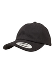 Yupoong Low Profile Melton Wool Dad Baseball-Cap