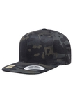 Yupoong Classic Multicam Schwarz Camouflage Baseball-Cap