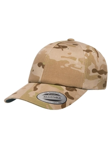 Yupoong Low Profile Schnee-Camouflage Dad Baseball Cap Uni//One Size Camouflage S